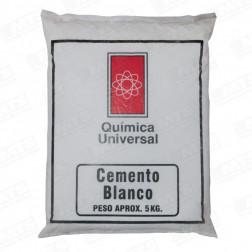 CEMENTO BLANCO BOLSA 5KG QCA.UNIVERSAL