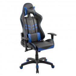 Silla Escritorio Gamer Racing Azul