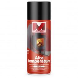 Spray Alta Temperatura Negro 350ml Marson