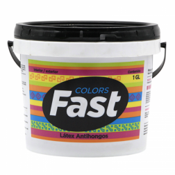 Latex Fast 4lts Azul Elect. Tricolor