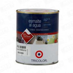 Esmalte Agua Prof 1/4gl Blanco Perf. Tricolor