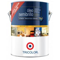 OLEO SEMIBRILLO PROF 1GL BCO. TRICOLOR.