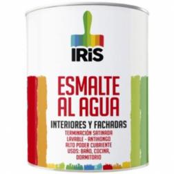 Esmalte Agua Iris 1/4gl Blanco