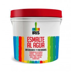 Esmalte Agua Iris 1gl Rojo Italiano