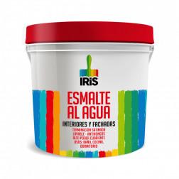Esmalte Agua Iris 1gl Rojo Colonial