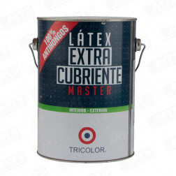 LATEX MASTER 1GL BLANCO TRICOLOR