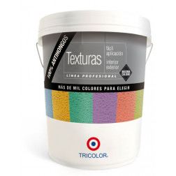 Pasta Tex. Gr30 Tin 24kg Bco. Muralin Tricolor