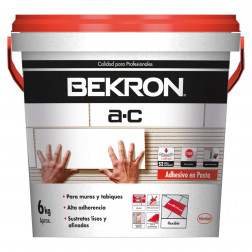 Adhesivo Ceramico Ac Pasta 6kg Bekron