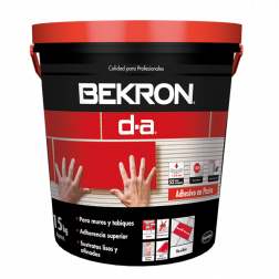 Adhesivo Porcelanato Da Pasta 15kg Bekron