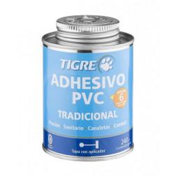 ADHESIVO PVC 240CC TRADICIONAL TIGRE