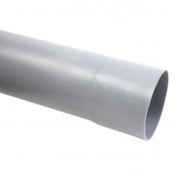 TUBERIA PVC SANITARIA GRIS 110MM*6MT