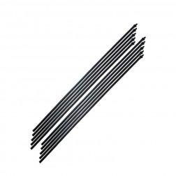 Microtubo C/conector Pvc 4*7mm 60cm