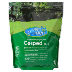FERTILIZANTE CESPED 1KG BEST GARDEN