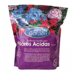 Fertilizante Flores Acidas 1kg Best Garden