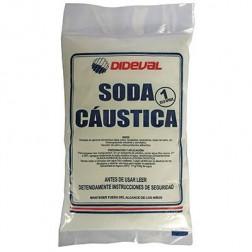 Soda Caustica Perlada 1kg Dideval