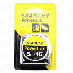 Huincha Medir   5mt Powerlock 33158 Stanley