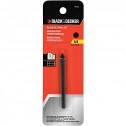 BROCA VIDRIO/CERAMICA  6MM 1/4 BLACK DECKER