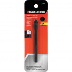Broca Vidrio/ceramica 10mm 3/8 Black Decker