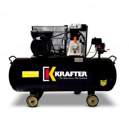 Compresor 3hp 100lt 220v Krafter