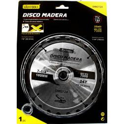 Disco Sierra  71/4 24dtes Uyustools