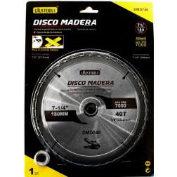 Disco Sierra  71/4 40dtes Uyustools