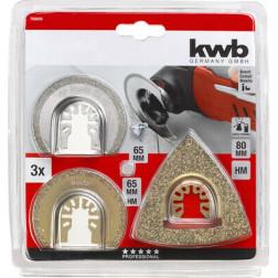 Kit Reparacion 3pzas Azulejos/baldosas KWB