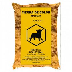 TIERRA DE COLOR 1KG AMARILLA IBERICA