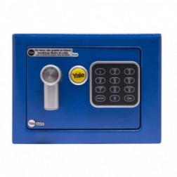 Caja Seguridad 4.2lt Elect.s/visor Azul Yale