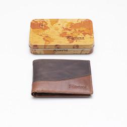 Billetera Cuero Hombre 6050 Tabaco/cafe