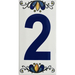 Numero Ceramica Decoralia 2