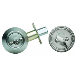 CERROJO AUXILIAR SIMPLE INOX BT POLI