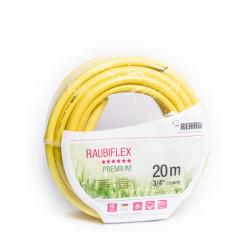 Manguera J. 3/4'' Raubiflex Amarilla (rollo 20mt) Rehau