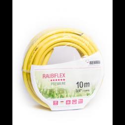 Manguera J. 3/4'' Raubiflex Amarilla (rollo 10mt) Rehau