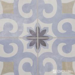 Ceramica 45x45 Agadir Azul 2.08cj Cordillera