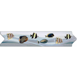 Flecha 7x33 3un Peces Tropical Decoralia