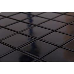 Malla 30x30 X Un Mosaico Negro Decoralia