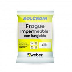FRAGUE IMPERMEABLE BLANCO ENV 1KG WEBER-SOLCROM