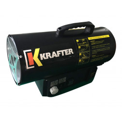 Turbo Calefactor Gas 30kw Tg30 Krafter