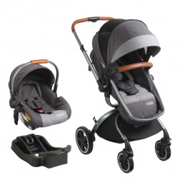 Coche Travel Systm F8006 Gris Bebesit