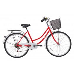 Bicicleta Aro 26 Provenza Rojo Lahsen