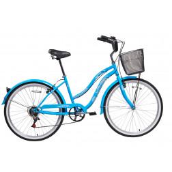 Bicicleta Aro 26 Paseo Beach Celeste Lahsen