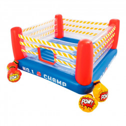 CENTRO ENTRETENIMIENTO INFLABLE 226*226*110CM RING BOXEO INTEX