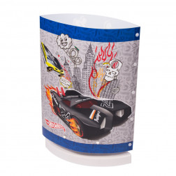 LAMPARA 1L VELADOR HOT WHEELS OVALADA TECNO IMOPORT