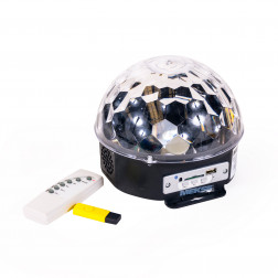 DOMO MAGIC BALL C/CONTROL REMOTO/REPROD/PENDRIVE MEKSE