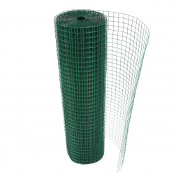 Malla Pajarera Plast. Verde 1/2*1.0*5.0mt Rollo Bighouse