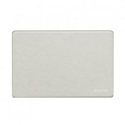 Placa Ciega Aluminio Oxidal C/tor. Bticino