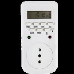 Reloj Control Digital Sem 8-20prg Diarias Mec
