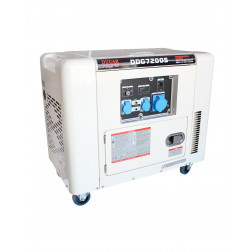 Generador 6.5kva 220v Diesel P/electrica Ddg7200s Ducar