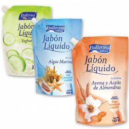 JABON LIQ 1000ML BALLERINA AROMAS