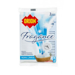 Pinza Antipolilla Fragance Ropa Limpia Orion